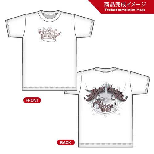 T-shirt Tribal and crown