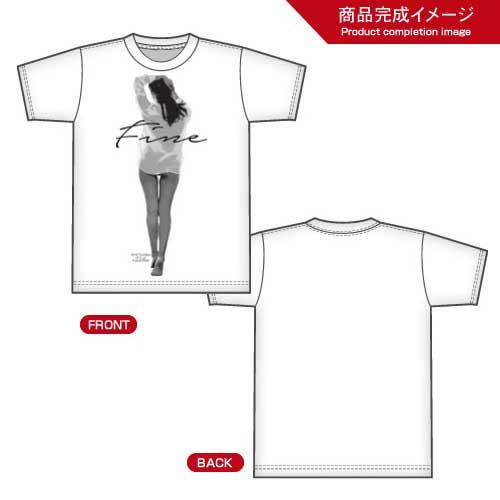 T-shirt feminine beauty