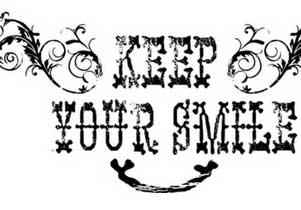 T-shirt Keep your smile