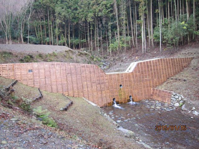 新砂防ダム2