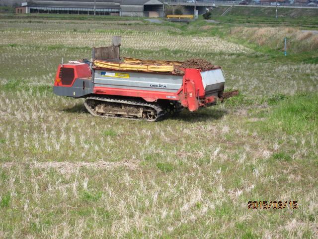 堆肥散布車