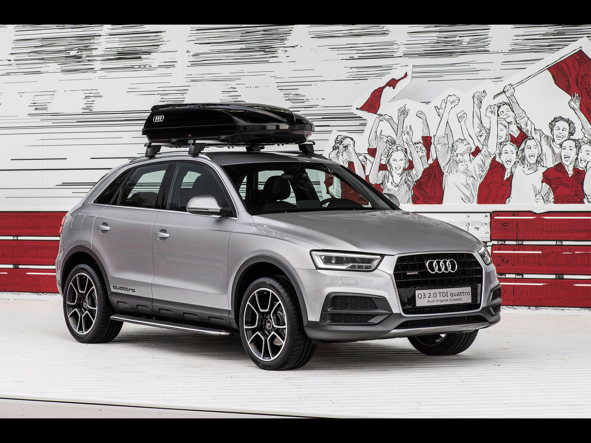 Audi Q3 offroad style package [2015] 001
