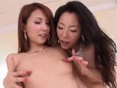レズビアン専用ソープのテクニックを浅倉彩音が妃悠愛に伝授してます!