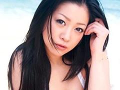 何かと話題スライムおっぱい小向美奈子の野外SEX!