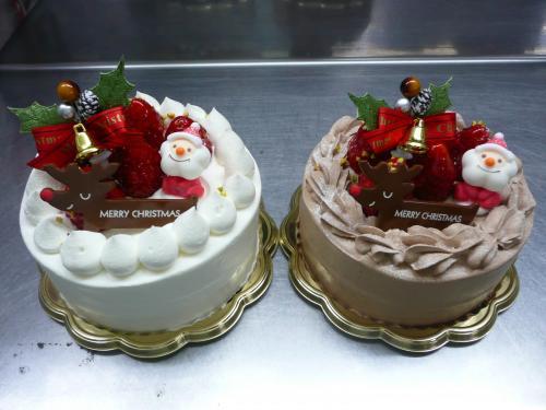 苺のクリスマスケーキ・12cm