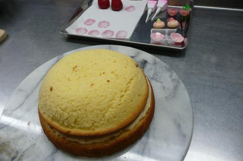 おひなまつりケーキ⑤