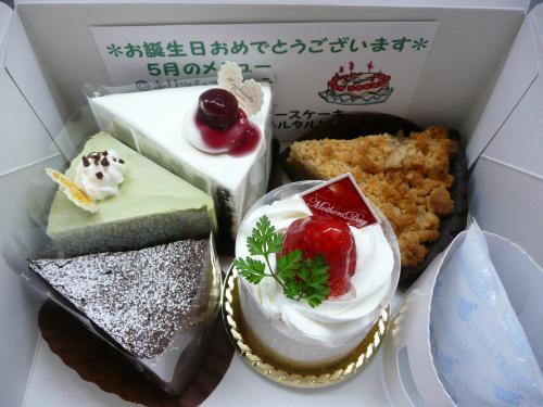 5月のケーキ