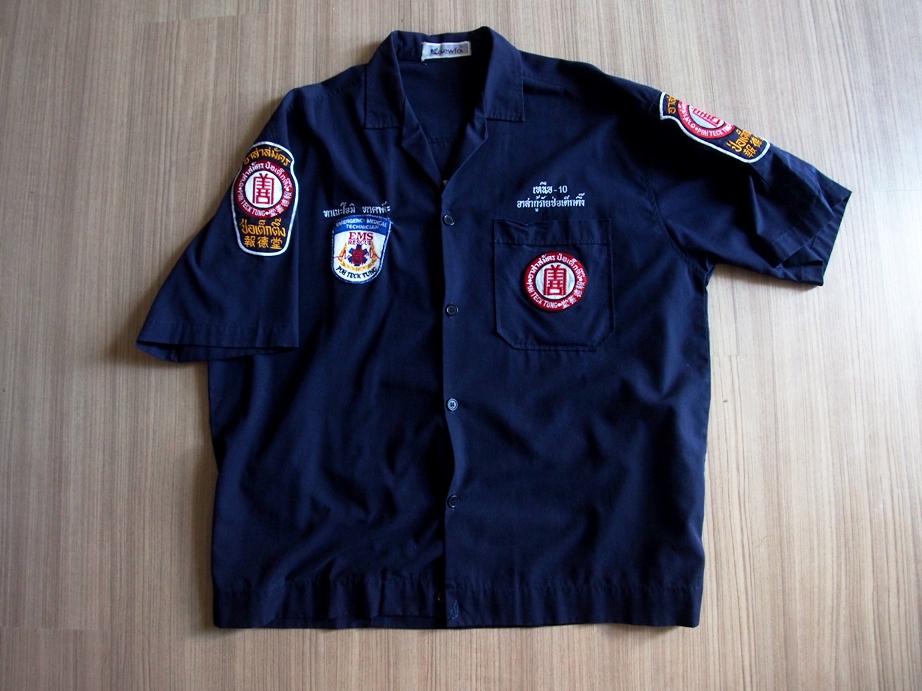 入隊当初に作った制服