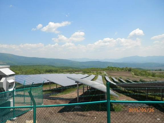 バラギ高原の太陽光発電