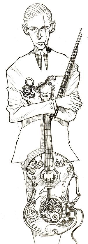 ギタリストn