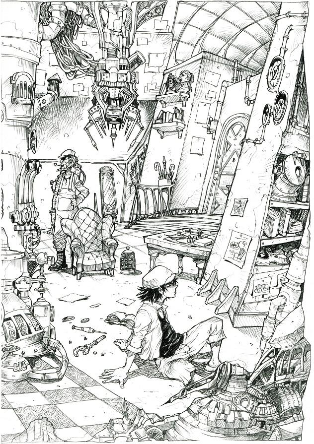隠れ小島の実験部屋n