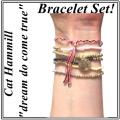 W821 Coco Bracelet set - Gold (2)1