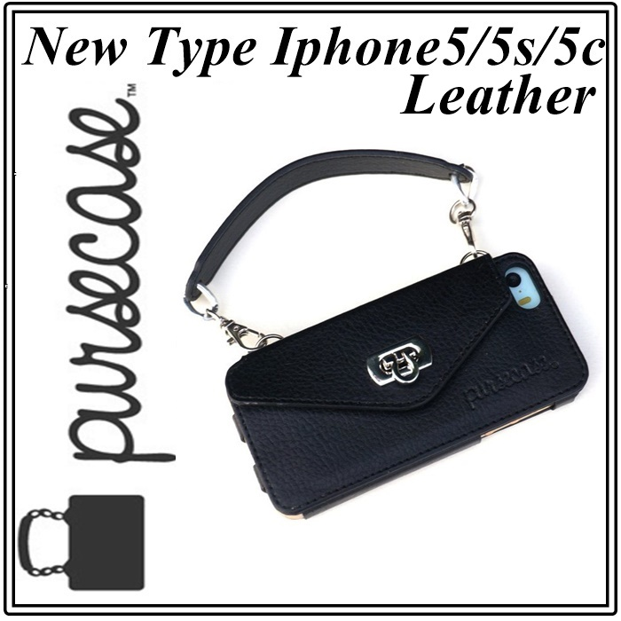 LEATHER BLACK IPHONE 55S5C1111