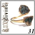 Turquoise Wrap Ring Gold 31 (1)1
