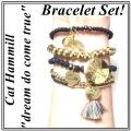 A302 Love tassel bracelet set (3)1