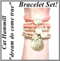 W811 Heritage Love Bracelet Set melon(3)1