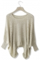 Beige Slouchy Sweater