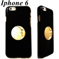 Moon Unique iPhone 6 Case black gold (2)1