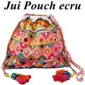 Jui Pouch ecru1