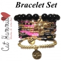 c001 multi colored coco bracelet set black (2)1