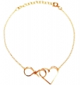 infinite love gold filled bracelet