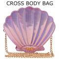 PINK SHELL CROSS BODY BAG111
