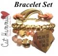 w58 gold dream tassel bracelet set (3)1