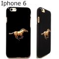Aquestrian Phone Case iPhone 6 Horse Rider Riding Running Animal gold black (3)1