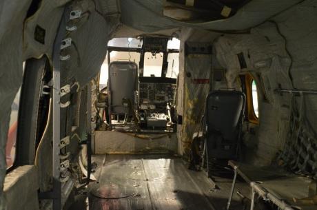 7救助艇中身