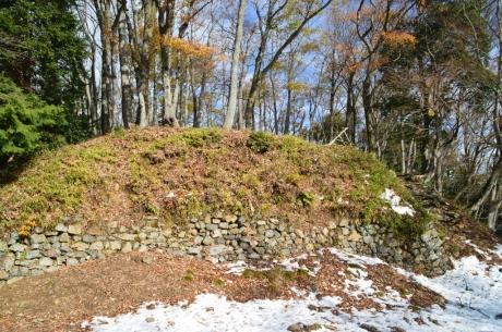 15本丸下の石垣