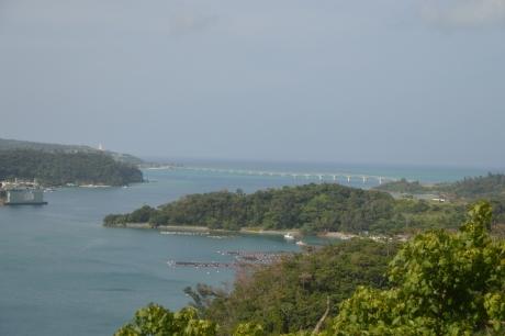 12古宇利島にかかる橋