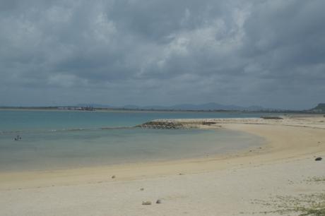 9古宇利島の白浜