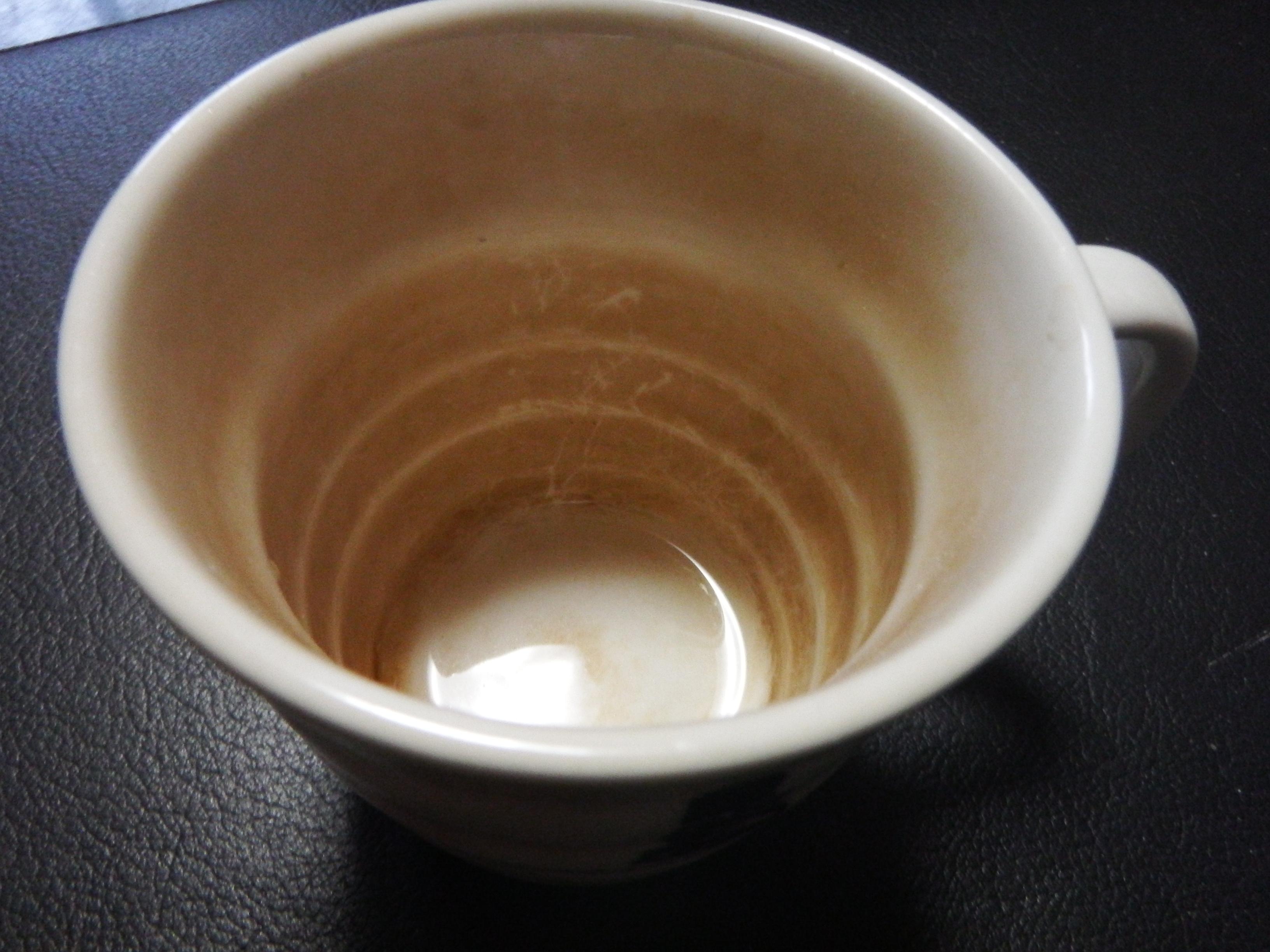 茶渋before