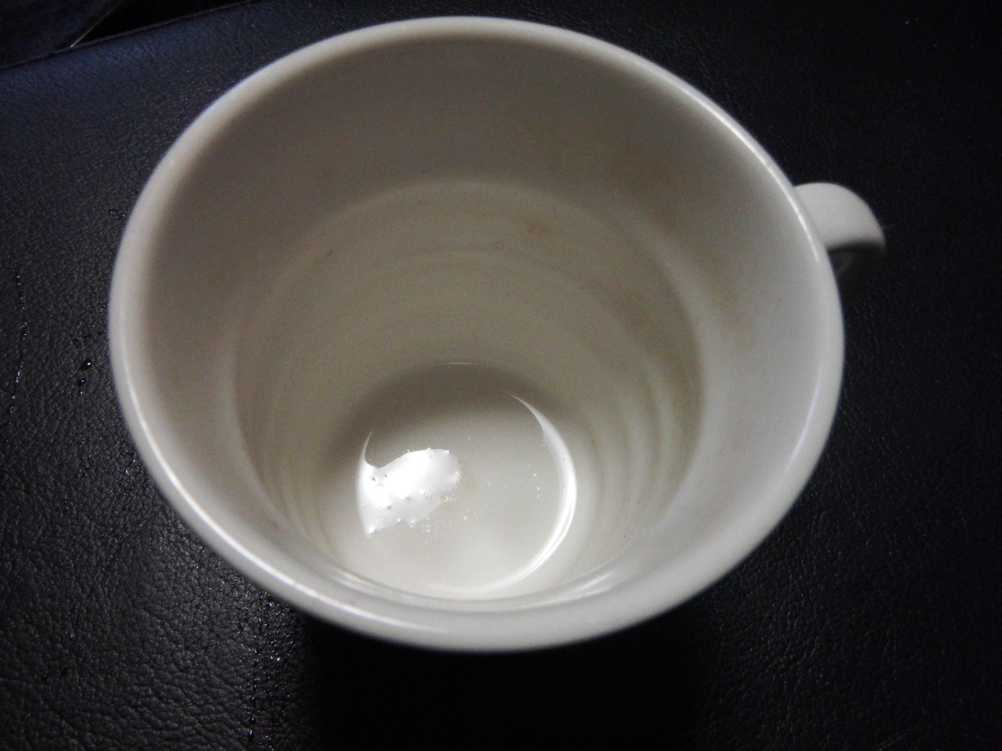 茶渋after