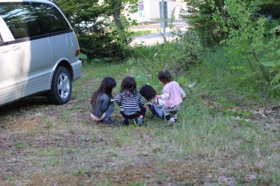 子どもたちが集合