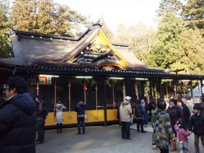 大崎八幡宮へ初詣