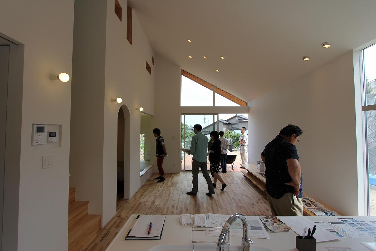 サンカクのイエ_オープンハウス