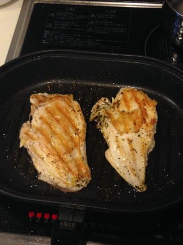 バーベキューで余った鶏肉 (コピー)