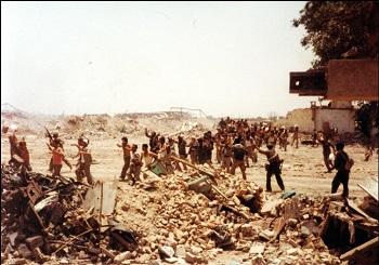 イランに侵攻したイラク軍兵士