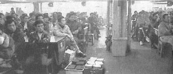 スト入り食堂集会80年1月