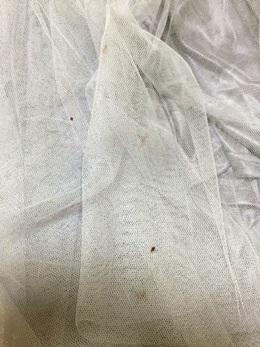 スカート汚れ