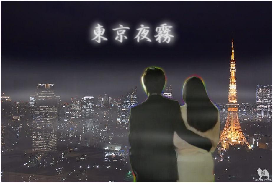 東京夜霧♪