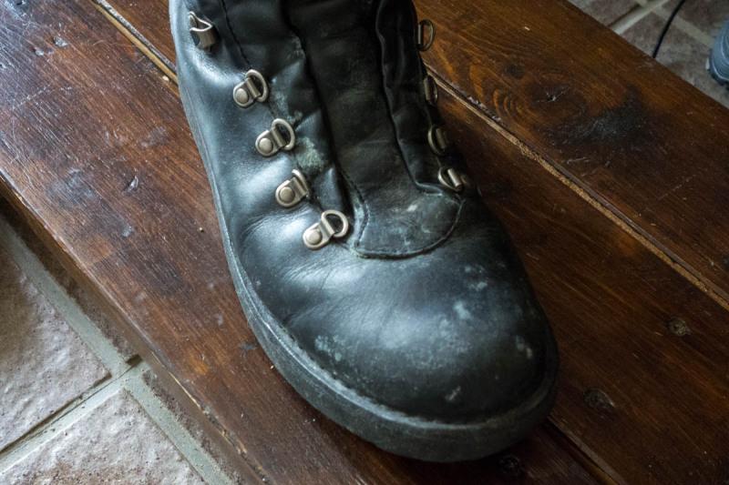 仕舞いこんでた靴の話