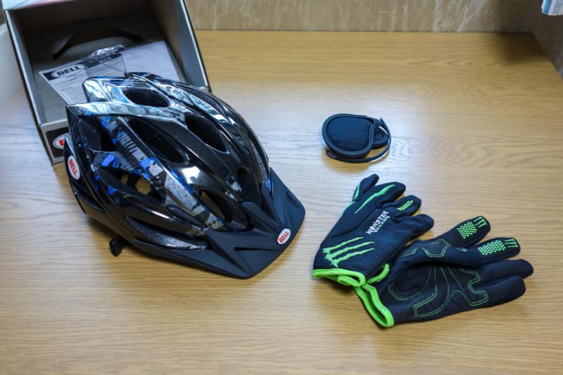 自転車に乗るときの安全装備