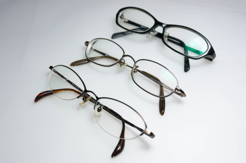 私のメガネ歴