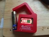 電池チェッカー 動作テスト1