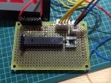 16セグ時計 試作基板(マイコンボード)