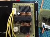 16セグ時計 試作基板(LEDドライバ)