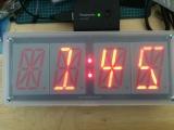 16セグ時計 稼動