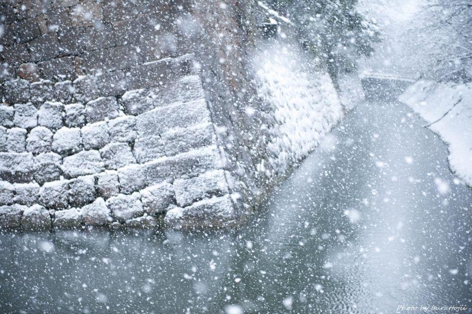2014.12.06雪の金沢城公園7